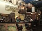Irský koutek restaurace Letem světem v Praze-Petrovicích