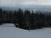 Zinneckerovy boudy na Černé hoře v 9:29 (30. března 2012)