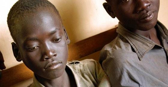 Někdejší dětští bojovníci Konyho Armádu božího odporu