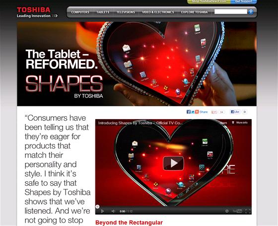 Toshiba se kone�n� vzep�ela nudn�m obd�ln�kov�m tablet�m
