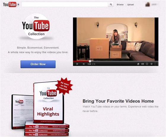 YouTube p�i�lo s dlouho o�ek�vanou nab�dkou DVD edice - d�mysln� krabicov�