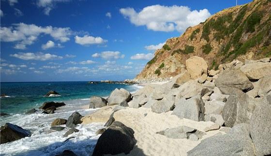 Pláž Paraiso del Sub u Zambrone