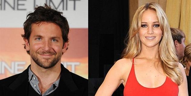 Bradley Cooper a Jennifer Lawrencová