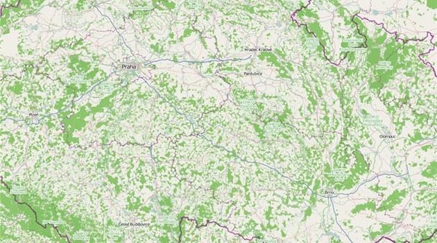 OpenStreetMap se mohou stát soupe�em Google maps