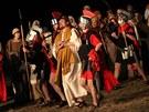 Pašijové hry s názvem Co se stalo s Ježíšem ve Žďáru nad Sázavou.