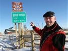 Americké město Buford ve státu Wyoming dal do aukce jeho starosta a jediný...