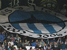 LIBEREC, DO TOHO! Fanoušci fotbalového Liberce fandí svému týmu.