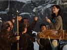 Lily Collinsová ve filmu Sněhurka