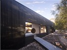 Stavbu navrhla architektonická dvojice Rowan Opat a Nathan Marshall z