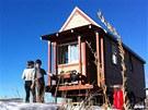V kopcích u města Fairplay v americkém státě Colorado si postavili maličký