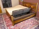 Na trezor se umístí matrace, která ale díky tomu nemá žádné větrání. Rošt zde