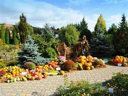 podzimná zahrada