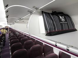 Větší nadhlavní schránky v nové A320