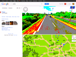 Mapy Google v 8bitov� edici