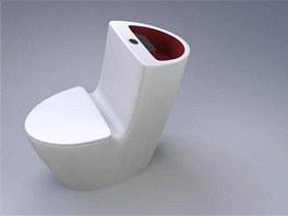 "Princip ""chytrého"" záchodu tlalokc spočívá v tom, že se voda z umyvadla"