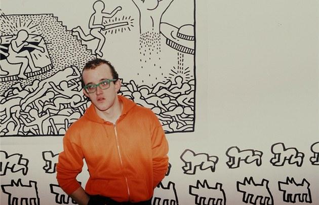 Z výstavy Roberta Carritherse v pra�ské Fotograf Gallery - Keith Haring