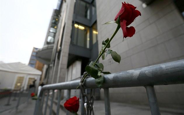 Budovu soudu, kde za�al ost�e sledovaný proces sAndersem Breivikem kdosi