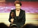 V kategorii herečka diváci nejvíce hlasů poslali Haně Maciuchové.