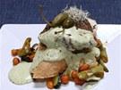 Steak s tlu�en�m pep�em a pep�ovou om��kou z kuchyn� ��fkucha�e Jaroslava Sap�ka