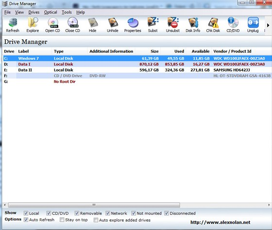 Drive Manager