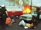 Soud 29. dubna 1992 policisty zprostil obvin�ní z nep�im��eného zákroku. Je�t�...