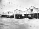 Vozovna �i�kov v roce 1927