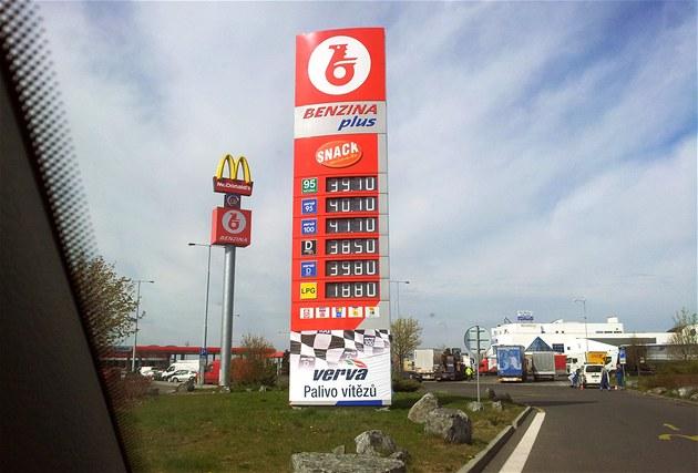 Benzina, Rudná u Prahy