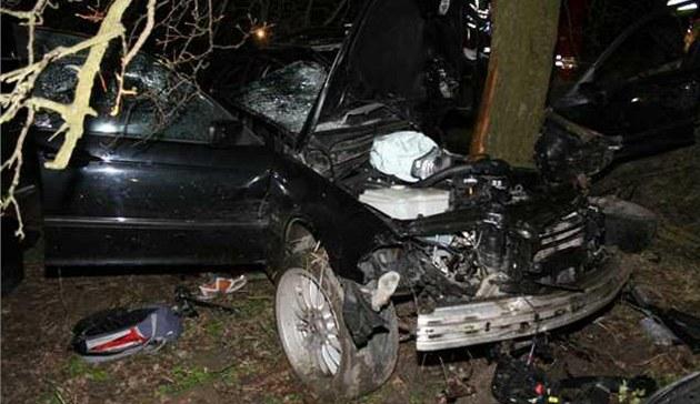 Tragická nehoda u Hro�ky na Rychnovsku (21. dubna 2012)