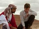 Amr Waked, Ewan McGregor a Emily Bluntov� ve filmu Lov losos� v Jemenu