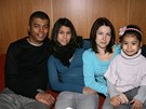 Rey Koranteng s man�elkou Monikou a dcerami Vanessou a Sophi�.