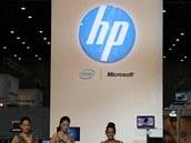 Pro srovnání současné logo HP, které zmizí z prémiových notebooků