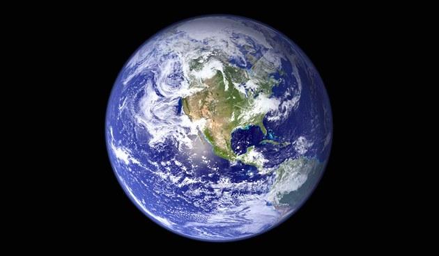 Zem� z vesmíru (ilustra�ní snímek)