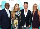Porota show X Factor: L.A. Reid, Demi Lovato, Simon Cowell a Britney Spears (2012)