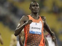 David Rudisha, pýcha keňské atletiky.