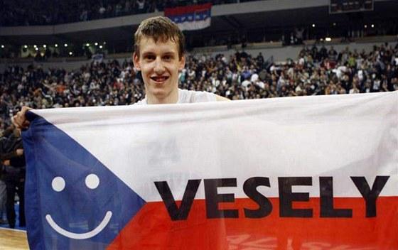 Jan Veselý v dobách, kdy působil v srbském Partizanu Bělehrad.