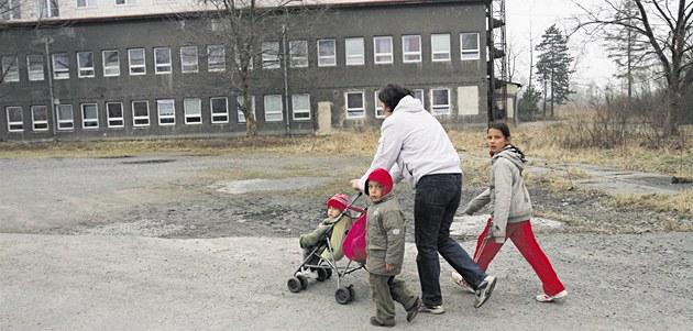 V ubytovnách �ijí rodiny chudých i mnoho let. Ilustra�ní snímek
