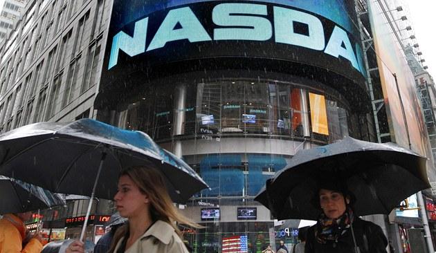 Americká burza NASDAQ. Ilustra�ní snímek