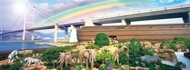 Brat�i Kwokovi cht�li p�vodn� postavit úpln� jiný hotel s restaurací. Ke stavb�...