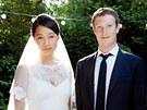 Priscilla Chanová a Mark Zuckerberg se vzali (19. května 2012).