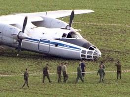 Havárie ruského vojenského letadla na letišti v Čáslavi. (23. května 2012)