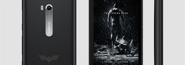 Nokia Lumia 900 Batman Edition The Dark Knight Rises