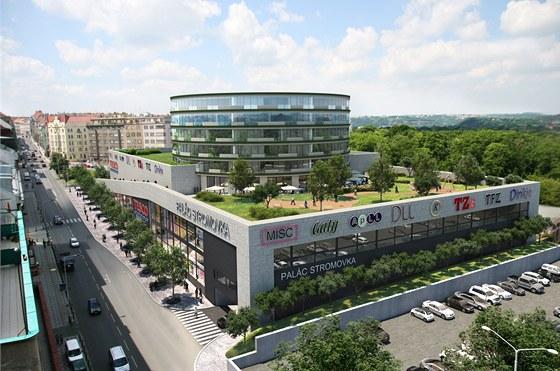 Takhle má vypadat nové nákupní centrum.