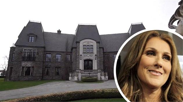 Céline Dion prodává sv�j d�m v Kanad�. Po�aduje za n�j  29,5 milion� kanadských