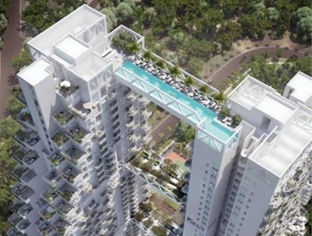 Bytový d�m plánují investo�i postavit na p�edm�stí Singapuru v �ásti zvané