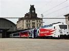 Tři šťastné jedenáctky pro reprezentaci. Z Hlavního nádraží vyjíždí s reprezentací na Euro 2012 v pořadí jedenáctá vyrobená lokomotiva 380  v 11:11