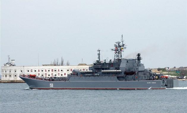 Ruská vále�ná lo� Cézar Kunikov