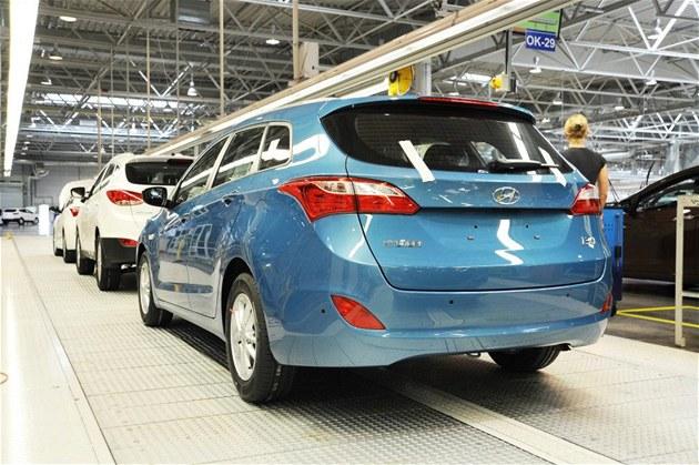 Hyundai zahájil v no�ovicích výrobu nového kombi, které doplní nabídku modelu
