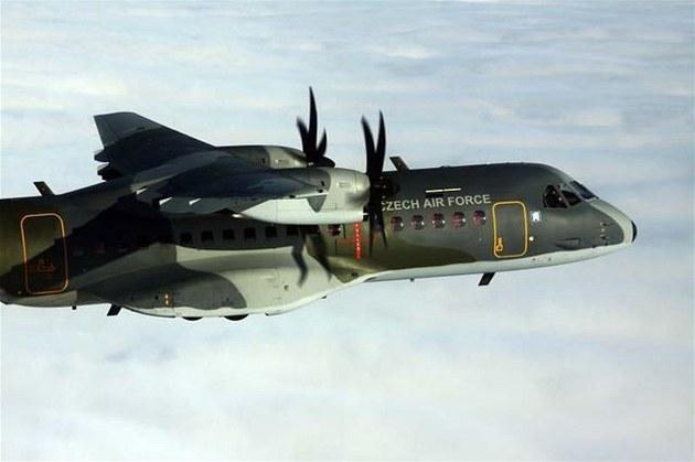 Transportní letoun C-295 CASA �eských vzdu�ných sil