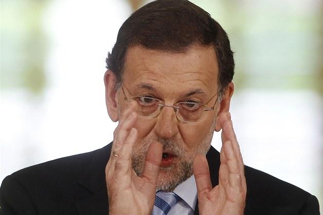 �pan�lský premiér Mariano Rajoy