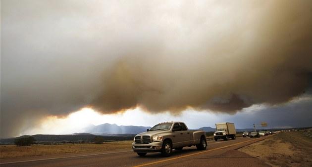 Po�áry v americkém stát� Colorado (26. �ervna 2012)